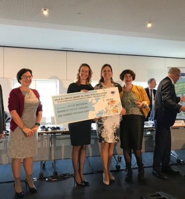 Amsterdam wins EU Health Award 2019