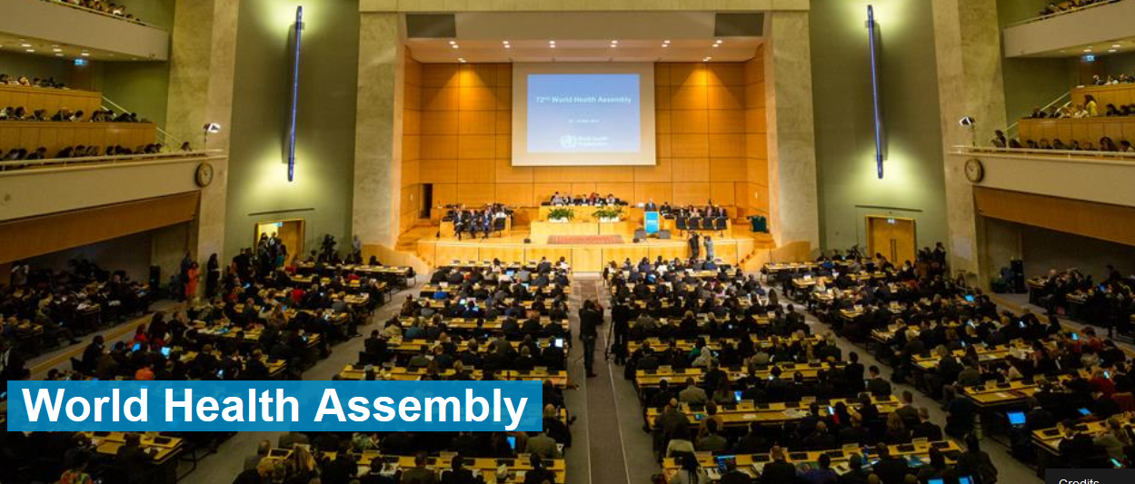 SAVE THE DATE Side event at the World Health Assembly in Geneva ...