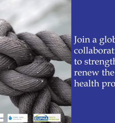 Extended deadline: Handbook of health promotion research – call for contributions 15 May 2020