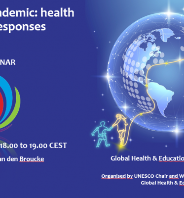 Webinar: Health Promotion Responses to the COVID-19 Pandemic