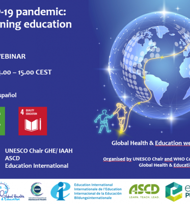 Webinar: The COVID-19 pandemic: better aligning education and health