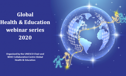 Health Education partners with Global Health & Education webinar series