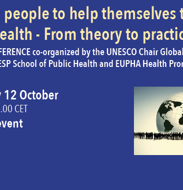 Pre-conference: Helping people to help themselves to better health – From theory to practice