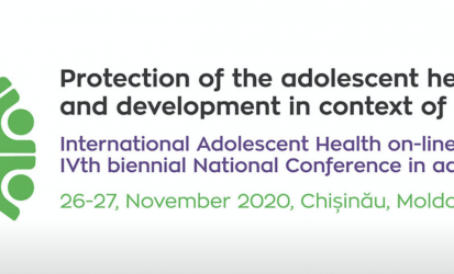 On-line conference : protection of the adolescent health and development in context of covid-19 crisis