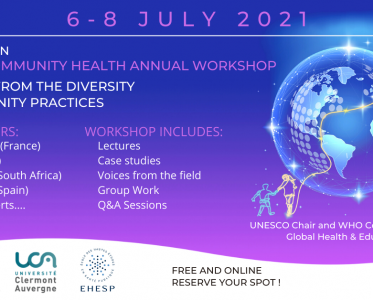 Global Community Health Annual Workshop – register now
