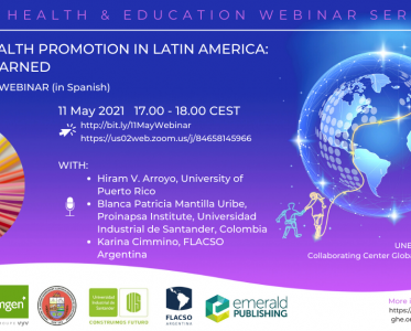 11 May 2021 – School Health Promotion in Latin America: Lessons Learned