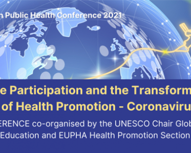 Online pre-conference Genuine Participation and the Transformational Potential of Health Promotion – 10 November 2021